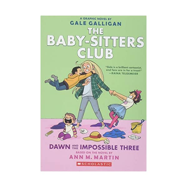 Dawn and the Impossible Three (The Baby-sitters Club Graphic Novel #5): A Graphix Book (The Baby-Sitters Club Graphix)                         (Paperback)