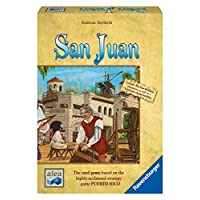 Ravensburger 81206 San Juan Game for Ages 5 & Up - Resource Management Strategy Board Game for The Whole Family