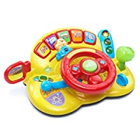 VTech Turn and Learn Driver (Frustration Free Packaging),Yellow