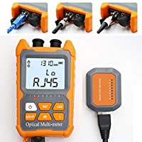 Strong light source Reinforced Aluminium Body VFL Fiber Tester Carry Case Included. FiberShack 10mW Visual Fault Locator
