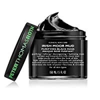 Irish Moor Mud Purifying Black Mask, Decongesting Facial Mask, Helps Reduce the Look of Pores, Fine Lines and Wrinkles