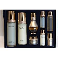 Ohui the First Cell Revolution 3-piece Special Limited Gift Set(8pcs) 24k Gold Ampoule and Hair Tie 1pc