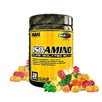 Man Sports 30/Servings Sour Batch Kids Iso-Amino, 7.41 Ounce
