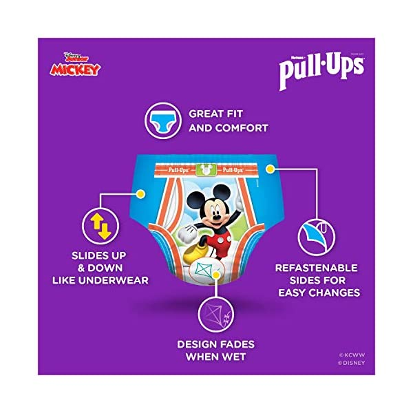 Pull-Ups Learning Designs Boys' Training Pants, 4T-5T, 74 Ct