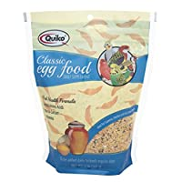 Quiko Classic Egg Food Daily Supplement - Peak Health Formula, Ideal For Canaries, Finches And All Other Pet Birds, 1.1 Lb.