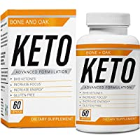 Bone and Oak Keto Diet Pills | Apple Cider Vinegar | Best Exogenous Supplement Utilize Fat for Energy | Boost Metabolism | Advanced Ketogenic Carb Absorption for Women & Men | Ultra Fast Ketosis