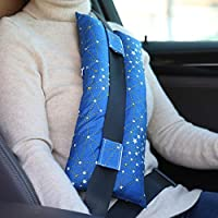 Seatbelt Pillows for Post-Surgery Comfort Mastectomy Breast Cancer Port Pacemaker Heart Surgery C-Section Recovery Support Cushion Pad Patient Care Car Travel Pillow (Cobalt Blue)