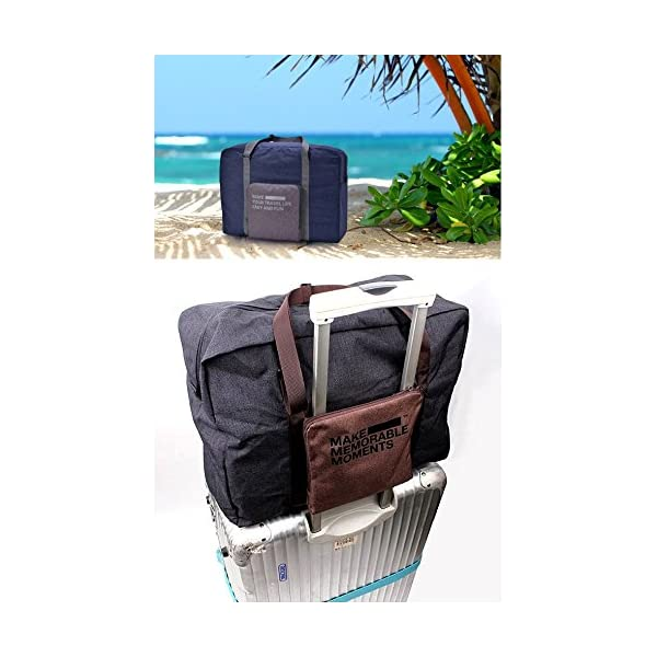Foldable Travel Duffel Bag Buruis Carry on Luggage Underseat Tote Bag for Travel Gym Sports Lightweight Luggage