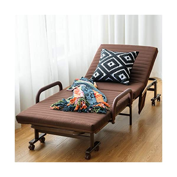 Folding Guest Bed Frame With Mattress