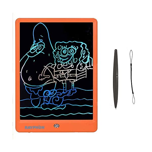 Durable Portable White Board Memo Notes and Gifts for Kids School Office Kitchen Doodle Pad 8.5 inch LCD Writing Tablet Black NOBES Electronic Graphics Tablet Digital Drawing Board eWriter