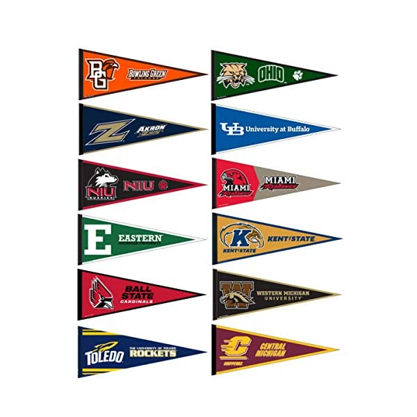College Flags and Banners Co Morgan State University Pennant Full Size Felt