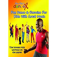 DanceX: Fun Dance & Exercise DVD For Kids With Great Music   Ultimate Indoor Fitness and Workout Video For Kids