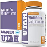 Multivitamins for Women with 20 Essential Vitamins & Minerals, and 18 Other Natural Antioxidants to Boost Your Immune System and Balance Your Overall Health & Nutrition