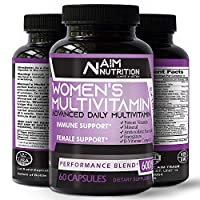 Womens Multivitamin Multimineral Dietary Supplement - Rich Vitamins, Minerals, antioxidants & Herbs with Healthy Lifestyle for Women