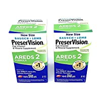 PreserVision AREDS 2 Eye Vitamin & Mineral Supplement with Lutein and Zeaxanthin, Soft Gels, 2 Pack (210ct Each) IUE%FHK