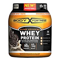 Body Fortress Super Advanced Whey Protein Powder, Cookies N' Cream, 2 Pound (Packaging May Vary)