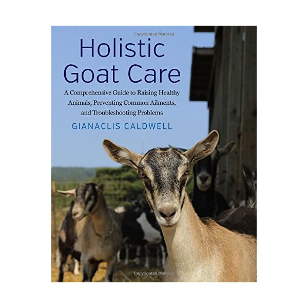 Holistic Goat Care: A Comprehensive Guide to Raising Healthy Animals, Preventing Common Ailments, and Troubleshooting Problems                         (Hardcover)