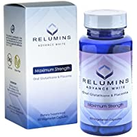 3 Bottles of Relumins Advanced White Oral Glutathione Whitening Formula Capsules-max Strength