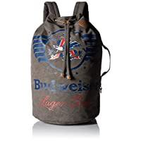 Budweiser by Buxton Men's Eagle Wings Drawstring Bucket Bag Accessory
