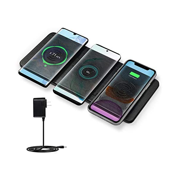 Buy Wireless Charger Station, JE Qi Certified Ultra Slim