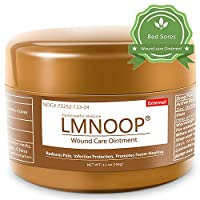 LMNOOP® Bed Sore Cream - Infection Protection Skin Healing Treatment Wound Care Supplies, Medical Grade First Aid Ointment for Bed & Pressure Sores Diabetic Venous Foot & Leg Ulcers Cuts Scrapes Burns
