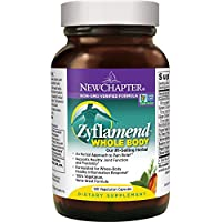 New Chapter Multi-Herbal + Joint Supplement, Zyflamend Whole Body for Healthy Inflammation Response + Herbal Pain Relief - 120 Count