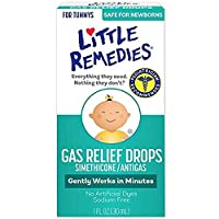 Little Remedies Gas Relief Drops | Natural Berry Flavor | 1 oz. | Pack of 1 | Gently Works in Minutes | Safe for Newborns