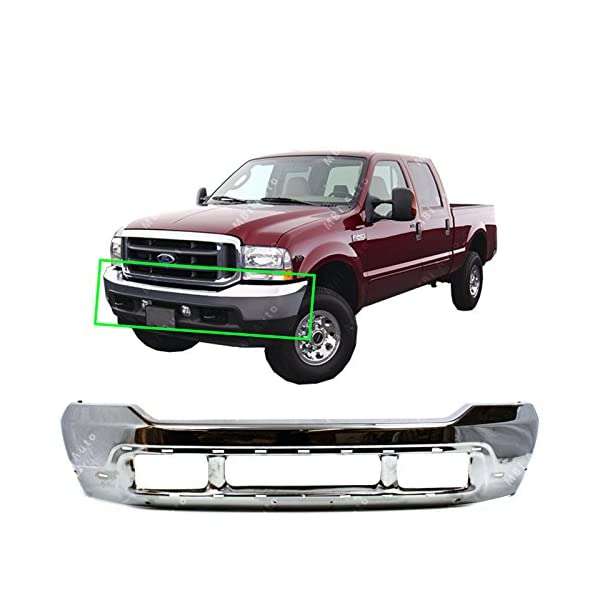 New Front Grille For 1999-2004 Ford Pickup Ford Superduty Chrome With Black Made Of Plastic FO1200359
