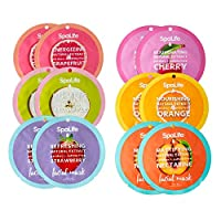 SpaLife Fabulous Fruit Sheet Mask Collection (12 Pack)