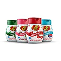 Jelly Belly Drink Mix - Variety Pack, Naturally Flavored Water Enhancer, Sugar Free, Zero Calorie, Makes 96 Drinks (Pack of 4 Bottles) (Variety Pack)