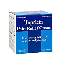 Topricin Pain Relief Cream (4 oz) Fast Acting Pain Relieving Rub