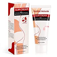 Slimming Body Cream, Slim Extreme Thermo Active Cellulite Cream, Belly Fat Burner for Women and Men, Hot Serum Treatment for Shaping Waist, Abdomen and Buttocks