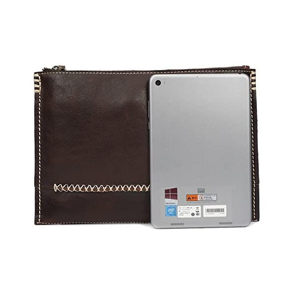 Color : Brass, Size : S Shengjuanfeng Mens Wallet Leather Fashion Stitching Long Wallet Retro Leather