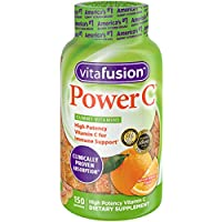Vitafusion Power C Gummy Vitamins, 150 Count Vitamin C Gummies (Packaging May Vary), Absolutely Orange