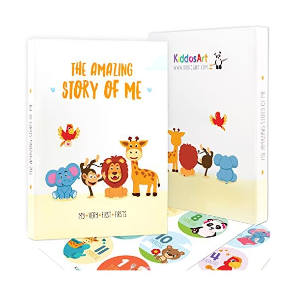 Baby Memory Book Baby Book of Firsts Gender Neutral Baby Book Holiday Edition Photo Album