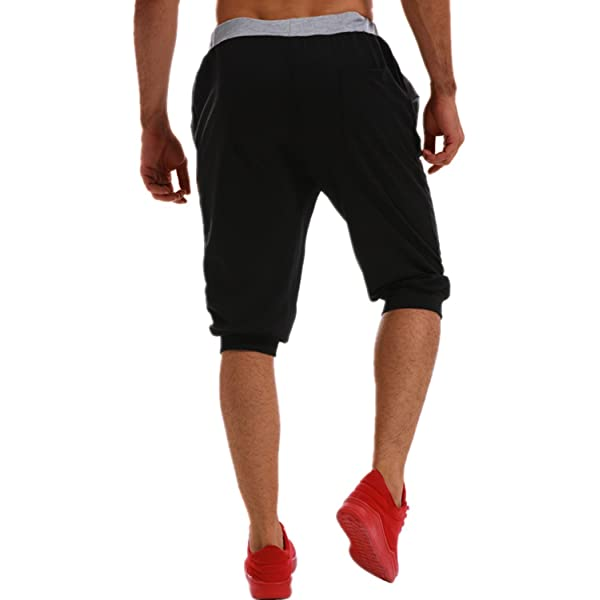 Mens Plaid Sweatpants with Side Stripe Winter Casual Drawstring Elastic Waist Sports Running Jogger Pants Trouser