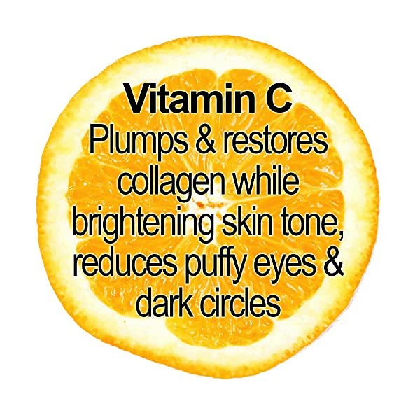 Organic Vitamin C Moisturizing Face Cream – Daily Skin Brightening Moisturizer with SPF 30 - Anti Aging Formula for Wrinkles, Age Spots, Firming and Dark Circles by Glimmer Goddess
