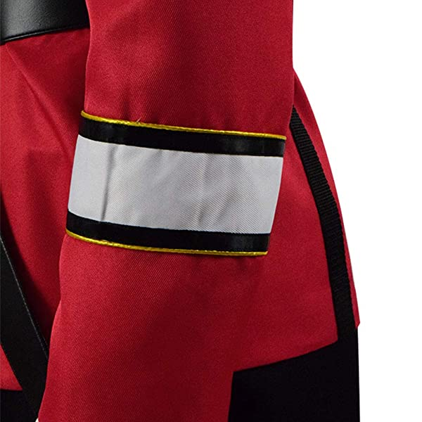 TISEA Star Fans Mens Womens Voyager Command Uniform Cosplay Costume