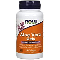 NOW Supplements, Aloe Vera (Aloe barbadensis) 10,000 mg, Supports Digestive Health...