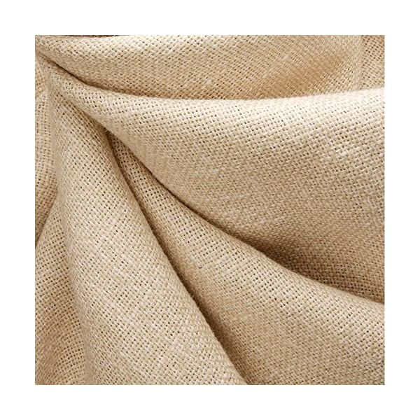 Caydo 3 Pieces 3 Colors Linen Needlework Fabric for Garment Craft 62 by 19 Inch