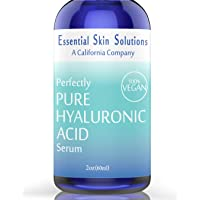 Hyaluronic Acid Serum for Face – 100% Pure Hydration | Vegan & Gluten Free | Hydrating...