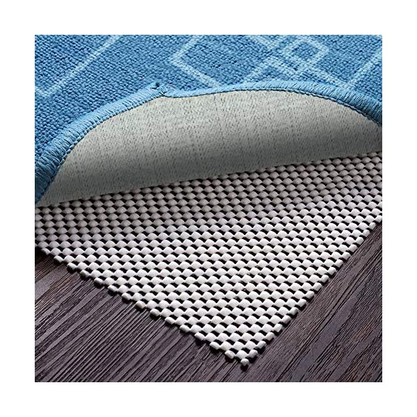 Easy Vacuuming Can Be Trimmed Keeps Your Rugs in Place Keeps You Safe Vitos Casa Extra Thick Non-Slip Area Rug Pad 4 X 6 for Hard Floor Surface