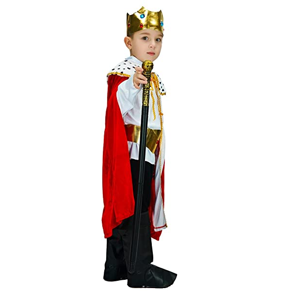 flatwhite Boy Regal King//Prince Child Costume