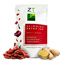 Dr. Zisman ZT Slimming Tea | Goji-Ginger Detox Blend | Weight Loss Tea | Organic...