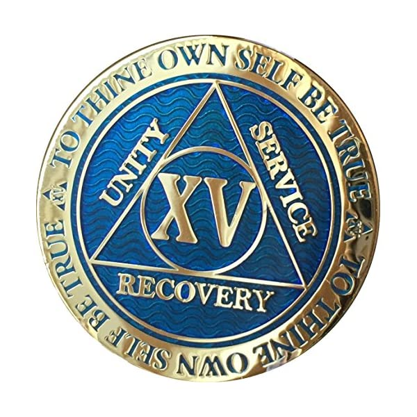 Four Year Coins 4 Year AA Medallions Sobriety Coin Alcoholics ...