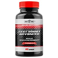 Test Boost Advanced Supplement for Men - Increase Stamina & Build Muscle Mass -...