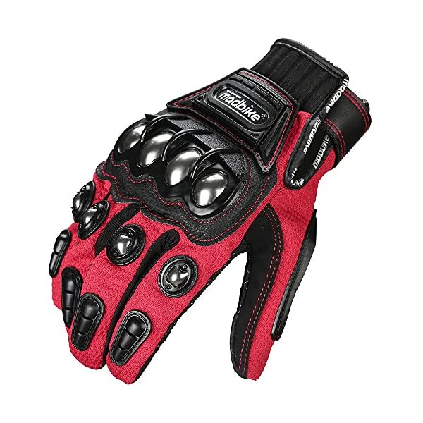 CHCYCLE motorcycle gloves touch screen summer motorbike powersports protective racing gloves X-Large