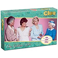 Clue The Golden Girls Board Game   Golden Girls TV Show Themed Game   Solve The Mystery of Who Ate The Lastpiece Of Cheesecake  Officially Licensed Golden Girls Merchandise   Themed Clue Mystery Game