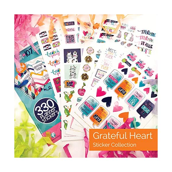 Birthdays Thankfulness Fantastic Variety Set of The Best Planner Stickers 1536-count Assortment Includes Stickers for Holidays Grateful Heart for Any Planner or Calendar
