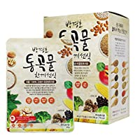 [Dr. MOON] Roasted Multigrain & Vegetables Powder Formulated by Dr. Park, Gyeong-Ho (30g x 10 packets) – 300g / 0.66 fl. oz, Meal Replacement, A Good Source of Energy & Protein, Misoot-garoo